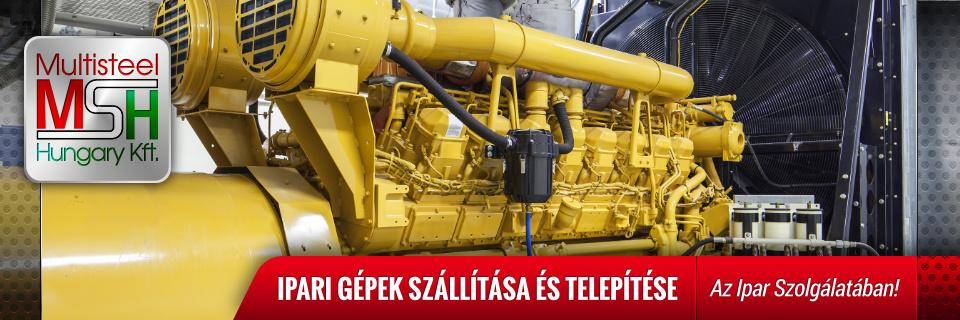 Ipari Gépek Telepítése