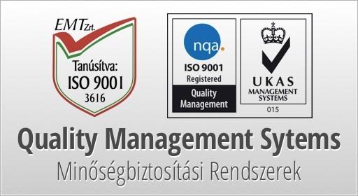 ISO 9001 minőségbiztosítás