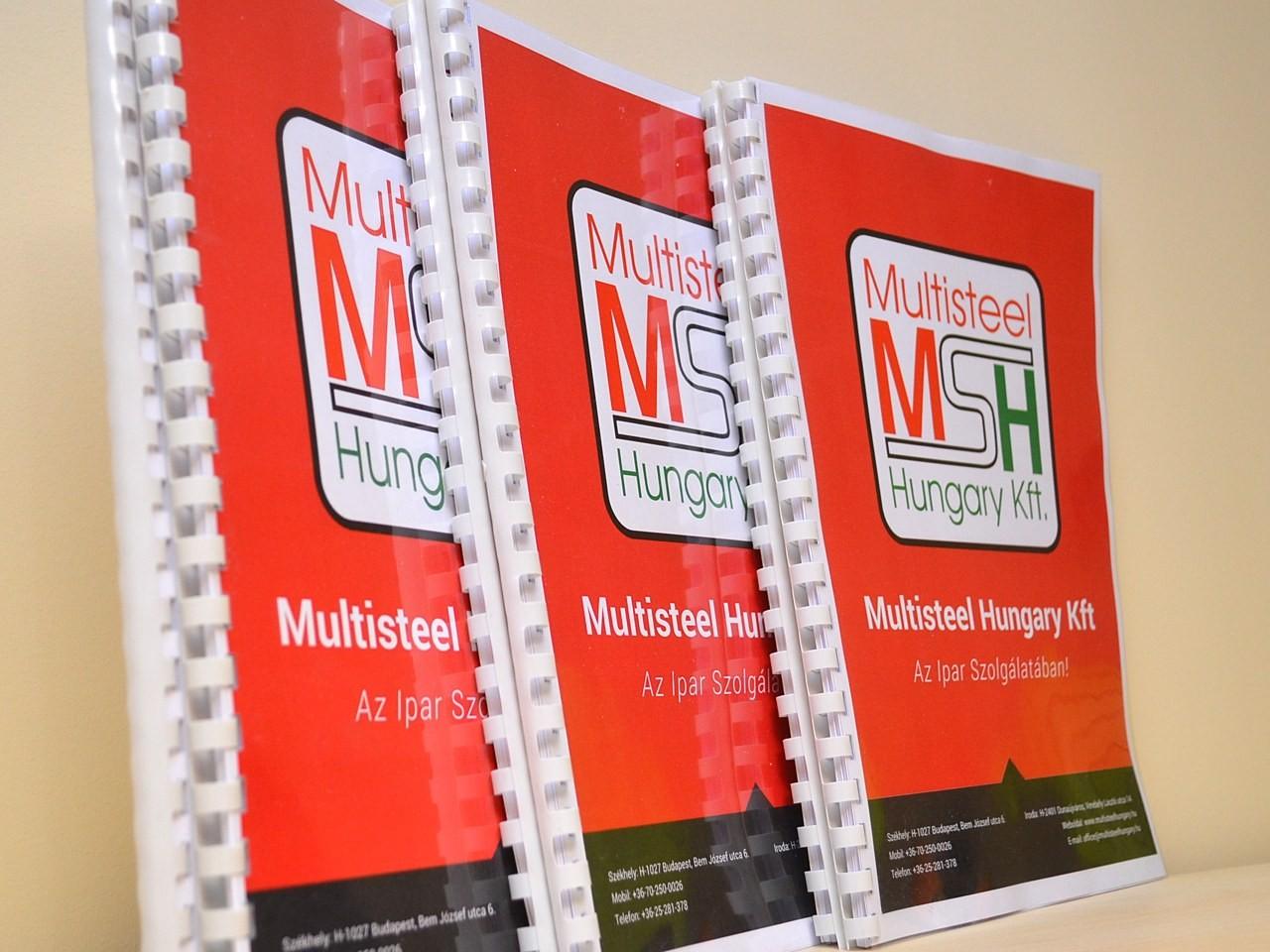 Multisteel Letölthető Dokumentumok