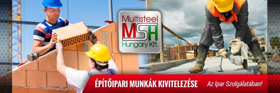 Építőipari munkák teljeskörű kivitelezése