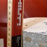 30 cm vastag betonfurat