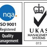 UKAS tanúsítvány ISO 9001